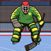 Hockey: Suburban Goalie